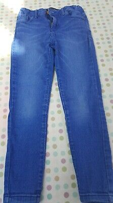 Girls River Island Blue Jeans Age 8