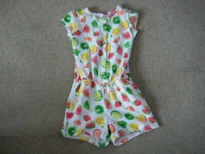 Girl'sWhite Multi Sleepsuit Age 5 Years from Next