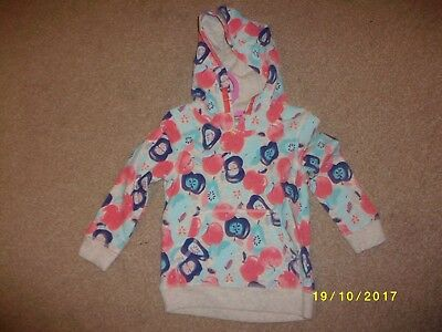 Girls Multi Coloured Long Sleeved Hooded Sweat Top Age 2-3 Years from George