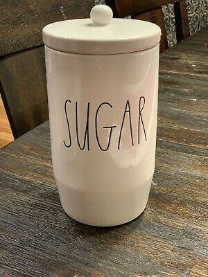 NEW RAE Dunn canister COFFEE TEA SUGAR FLOUR COOKIES KITCHEN SALE/PEPPER