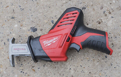 Milwaukee C12HZ Compact Cordless Hackzall Mini Recip Saw Body Only, 12 Volt