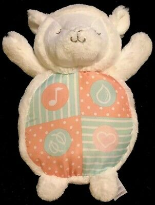 CARTERS Soft Sounds Soother Lamb Lullaby Nature/Ocean/Heart-EUC