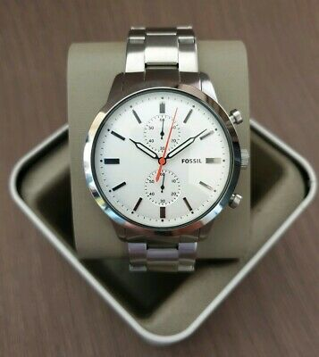 Fossil Townsman Chronograph Stainless Steel Watch Fs5346