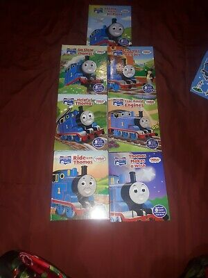Thomas The Tank Engine books bundle, stickers and toys Thomas and diesel