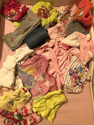 Bundle Of Girls Clothes Age 3-4 Puma Tracksuit Dressing GowMy Little Pony Peppa