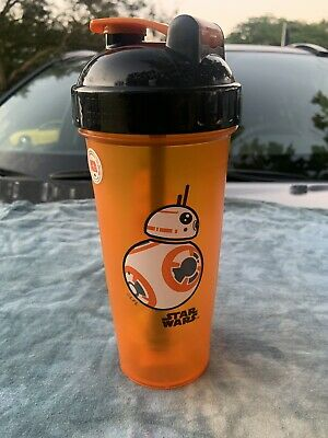 Perfect Shaker BB-8 Star Wars Blender Cup Bottle Large 28oz Orange Black