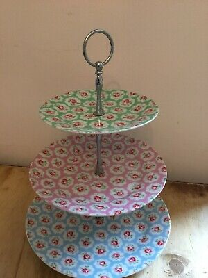 Cath Kidson 3 Tier Cake Stand - Provence Rose