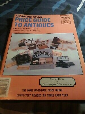 The Antique Trader Price Guide To Antiques Fall 1988 Magazine Vol december