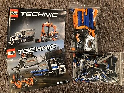 LEGO Technic Container Yard 42062 Complete Manuals No Box