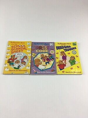 the berenstain bears books lot of 3 BIG Chapter books