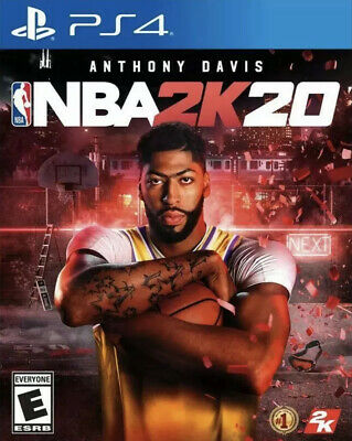 Nba 2K20 Ps4 (Sony Playstation 4, 2019) Brand New! Sealed! Free Shipping!