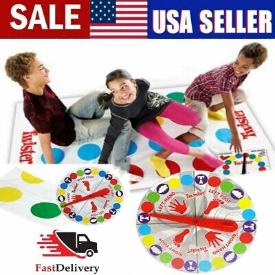 2020 Classic Twister Funny Family Moves Board Game Children Friend Body Games US