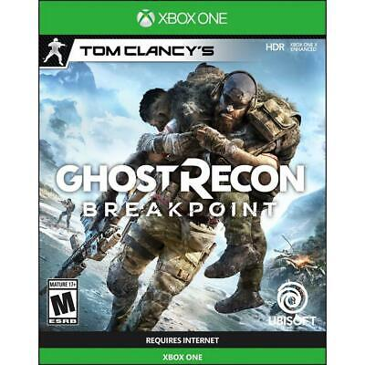 Tom Clancy's Ghost Recon: Breakpoint (Xbox One, 2019) *Brand New, Sealed*