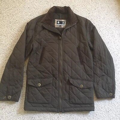 Austin Reed Mens Quilted Jacket Large Bnwt Blue Rrp 100 30 00 Picclick Uk