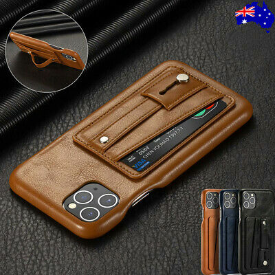 For iPhone 11 Pro Max 8 7 Plus XR XS Leather Wallet Card Case Back Stand Cover
