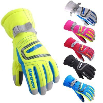 Padded Winter Skiing Gloves Snowboarding Ski Snow Ice Hand Mittens Warmers NEW