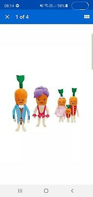 Kevin The Carrot & Family Christmas Bundle New Official Aldi 2019