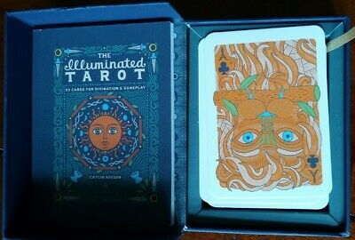 The Illuminated Tarot: 53 Cards for Divination & Gameplay very good condition