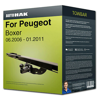 Towbar fixed ›for PEUGEOT Boxer 06.2006-01.2011 Auto Hak with manual