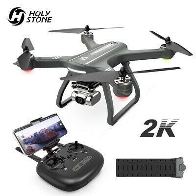 Holy Stone HS700D Brushless GPS FPV Drone with WiFi 2K HD Camera Quadcopter Grey