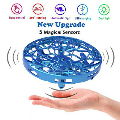 Mini Drones 360° Rotating Smart Mini UFO Drone for Kids Flying Toys Xmas Gifts A