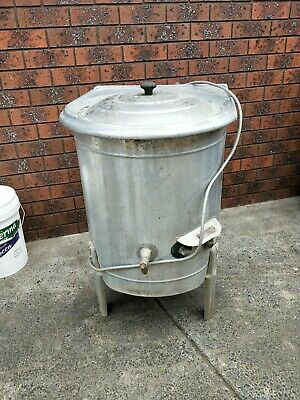 Antique Vintage Australian Made Electric Laundry Boiler Copper Water Tub