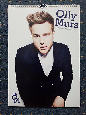 Olly Murs official 2015 Calendar perfect condition Gay interest