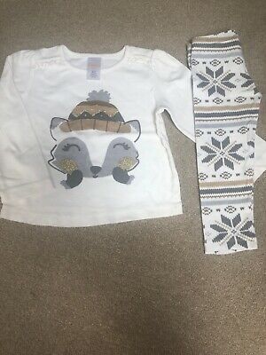 Gymboree Girls Festive Outfit Size 2 Years