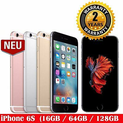 New Apple iPhone 6S 16GB/64GB/128GB Unlocked Sim Free Smartphone