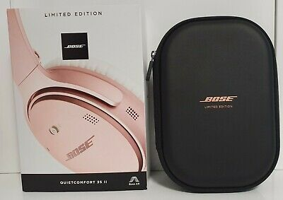 Bose QC35 II QuietComfort 35 II Noise Cancelling Headphones Rose Gold L/Edition