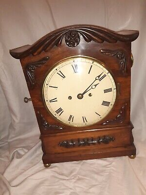 Antique Regency Double Fusee Bracket Clock