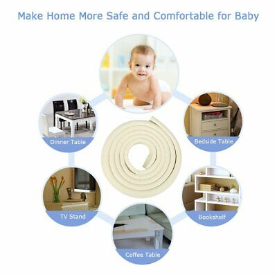 Baby Safety Corner Edge Cushion Desk Table Cover Protector Soft Foam Pads