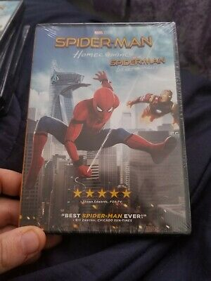 Spider-Man homecoming dvd brand new reseal? spiderman FREE SHIPPING US/CANADA