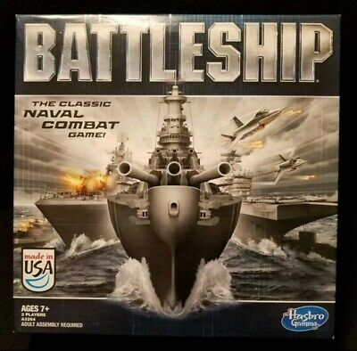 2012 BATTLESHIP The Classic Naval Board Combat Strategy Game By Hasbro Gaming