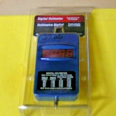 East Penn Manufacturing/Deka Products Digital Voltmeter for 6v & 12v - #08751