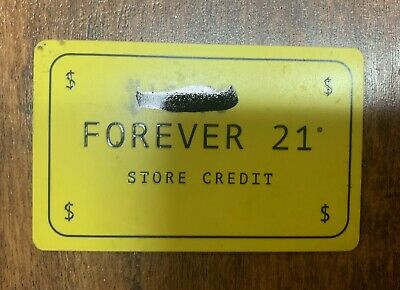 Forever 21 Gift Card - $40.48 Mail or Email Delivery
