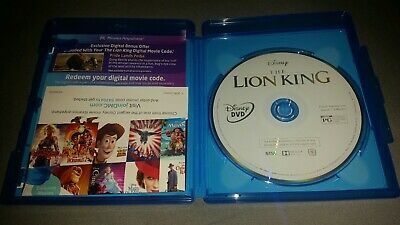 The Lion King (DVD & DIGITAL CODE) 2019 Live Action Movie, NO BLU-RAY DISC