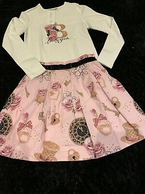 Girls  Brand New With Tags Spanish Balloon Chic Skirt And Top Set Age 10 Years