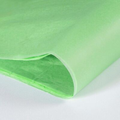 Lime Green Tissue Paper 500 x 750mm 14gsm