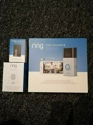 Ring video doorbell 2 1080p with  Chime and Quick-Release Battery pack