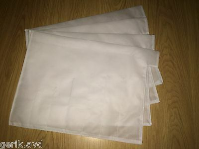 LOT OF 25 PCS PRM TRADE SIZE #4 FILTER BAGS 10 MICRON POLYESTER FILTER BAGS NIB