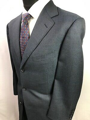 Ermenegildo Zegna Traveller 42R Suit!Pick Stitched!Full Canvased Made In Italy