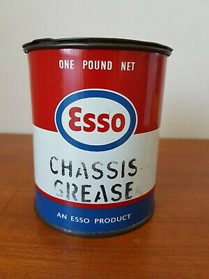 Esso chassis grease tin - collectable
