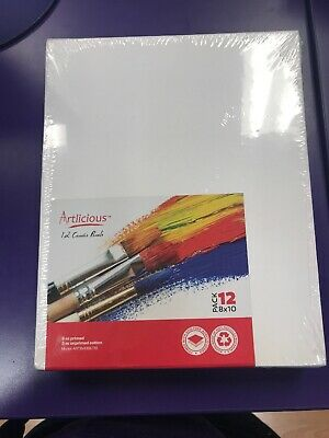 Artlicious Artist Canvas Panel Boards - 12 Pack