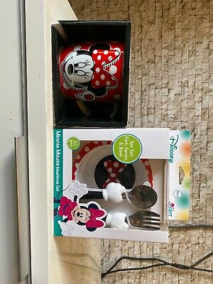 Minnie Mouse Cutlury Package