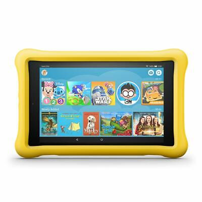 """Amazon Kindle Fire HD 8 Kids Edition Tablet, 8"""", 32 GB - Yellow (8th gen, 2018)"""