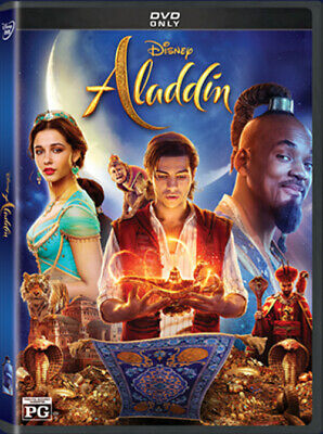 Aladdin Will Smith 2019 DVD Live Action Brand New & Sealed with Free Shipping