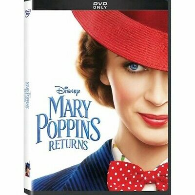 Mary Poppins Returns (DVD, 2018) New & Sealed Free Shipping Included