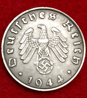 Rarest Old WWII German War 10 Cent Coin Military Army Collection Army 1944 D-Day
