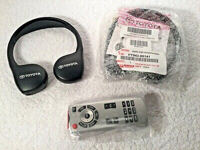 2015 2016 2017 2018 Toyota Sequoia  Remote Control + Wireless Headphones Oem